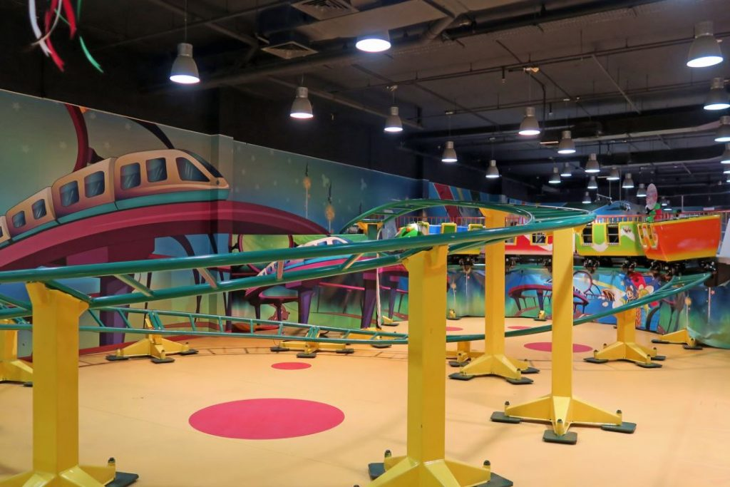 IE park mini coaster layout