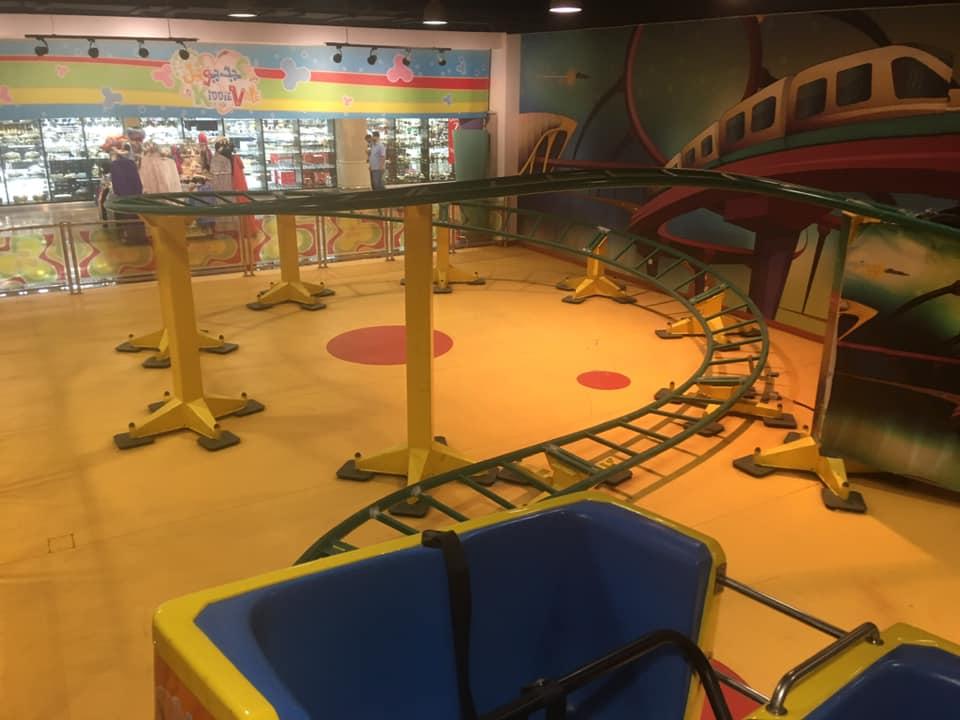 IE park mini coaster helix