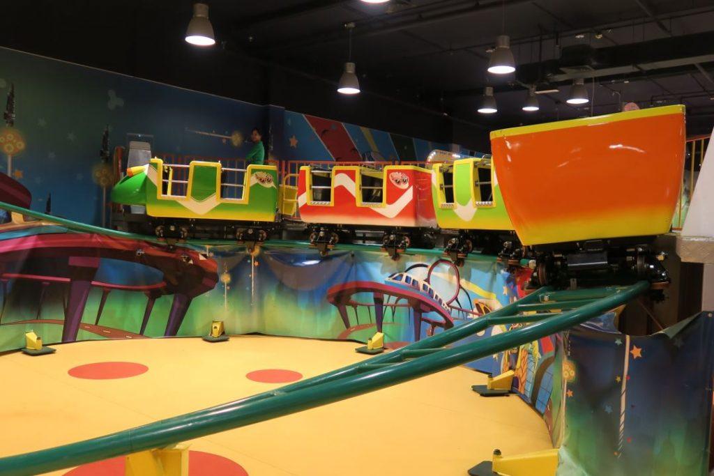 IE park roller coaster