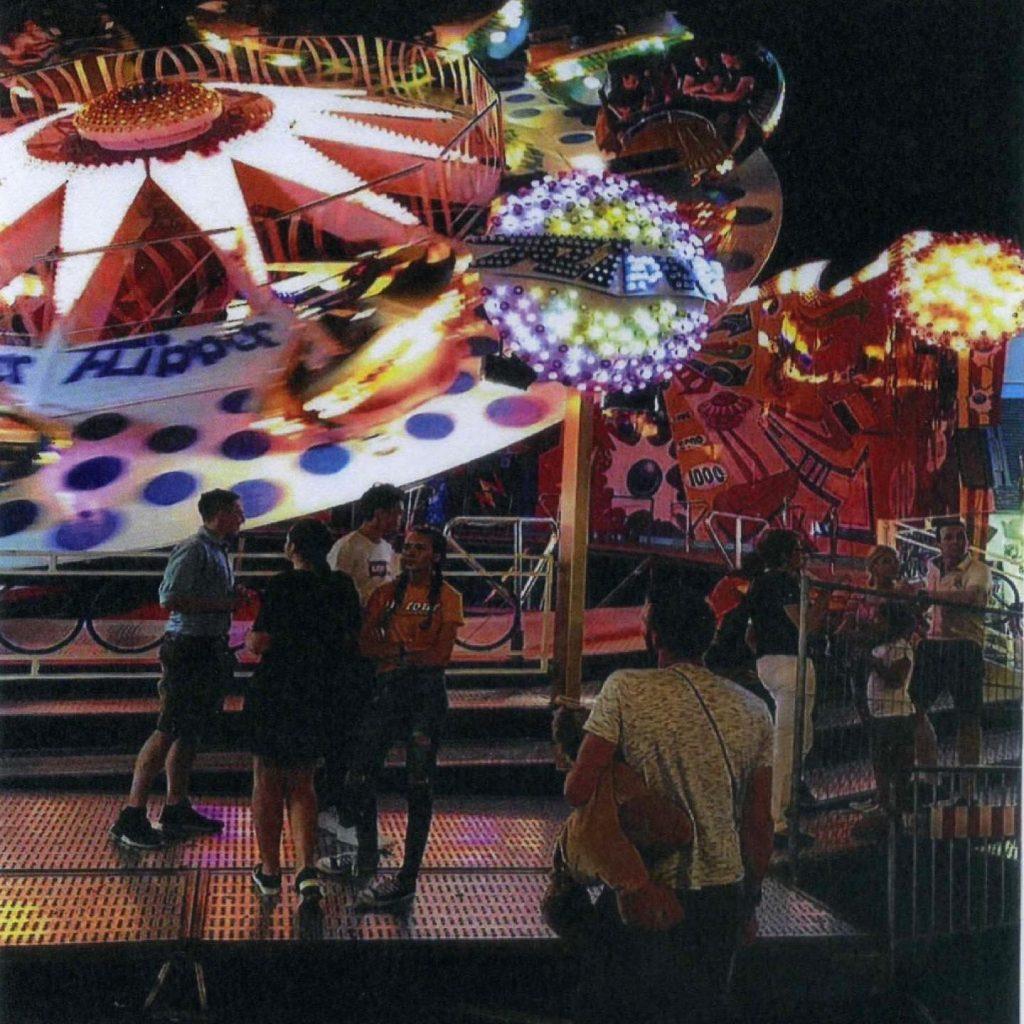 Huss Flipper amusement ride